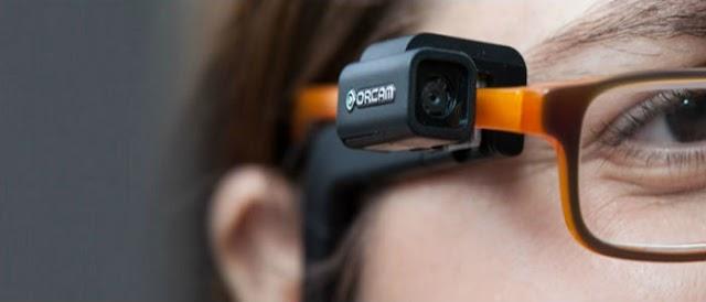 Giulia Rodrigues usa dispositivo israelense de visão artificial