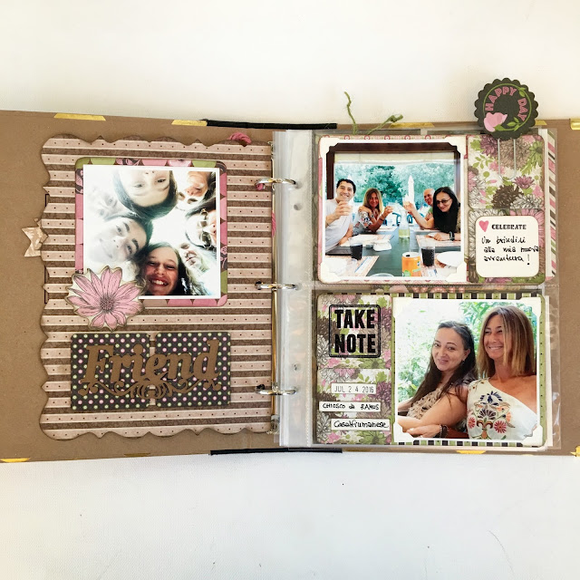 A Beautiful Day Misc Me by Angela Tombari using BoBunny Sweet Memories Collection