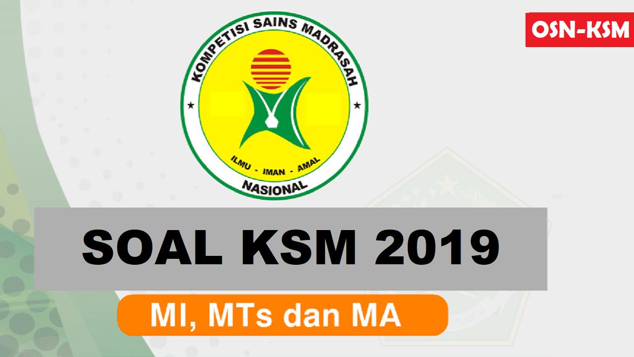 Soal Ksm 2019 Dan Pembahasannya Mi Mts Ma