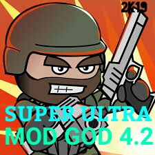 Mini Militia Mod God