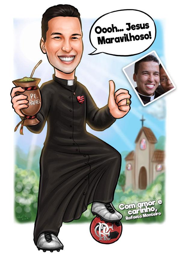 caricatura padre