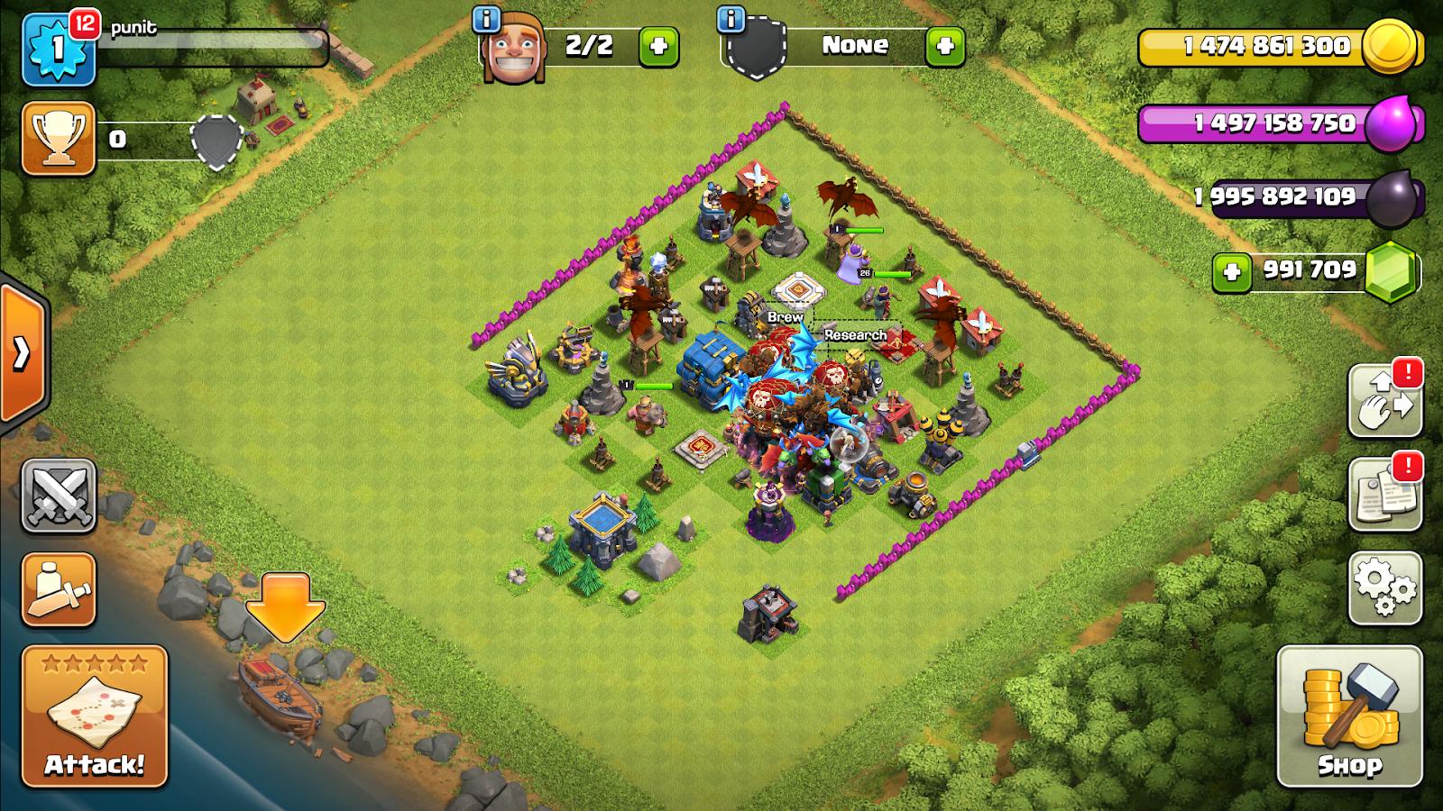 Clash of Clans MOD APK Latest Version 11 446 24