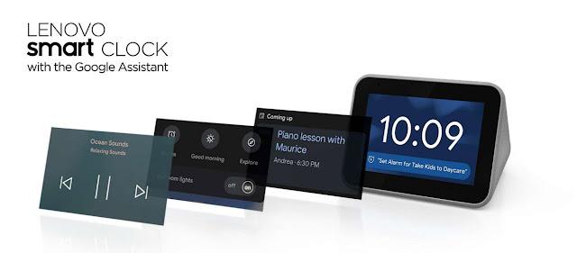 Lenovo Smart Clock - RictasBlog