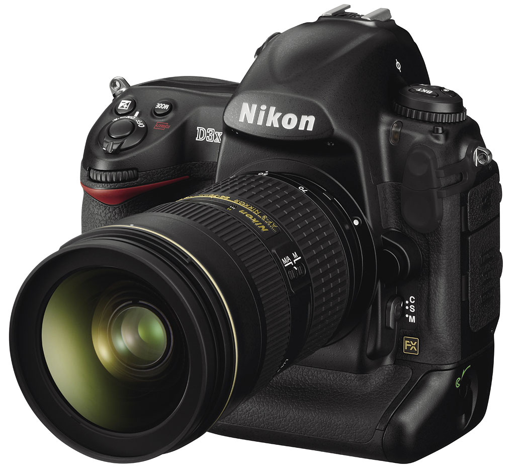 Nikon D3X Firmware Downloads