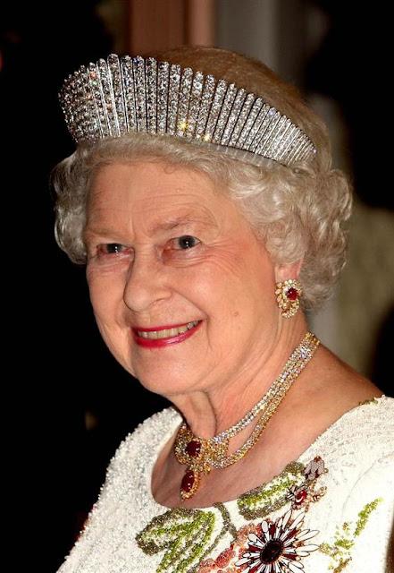 Queen Elizabeth II and her Tiaras