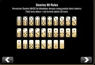 Cara Bermain atau panduan bermain Game Domino qq / domino 99 Online