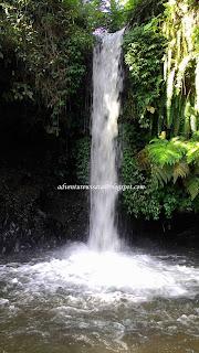 wisata air terjun di lereng gunung raung bondowoso