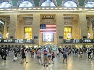 ニューヨーク グランドセントラル駅写真