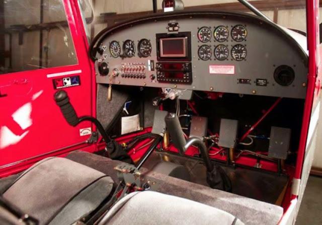 Rans S-20LS Raven cockpit
