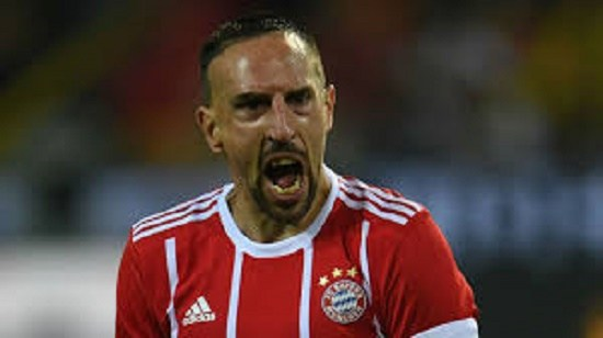 Ribery Apologises for Slapping TV Presenter