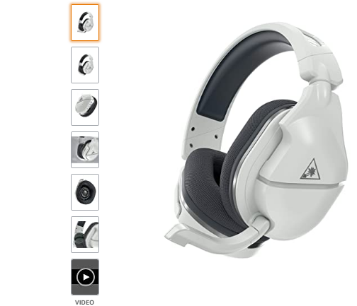 Turtle Beach Stealth 600 Gen 2 White Wireless Gaming Headset for Xbox One and Xbox Series X