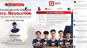 Những khách mời sẽ góp mặt tại buổi ra mắt team CS:GO của GTV