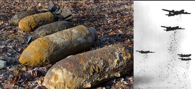 World War II Bombs found