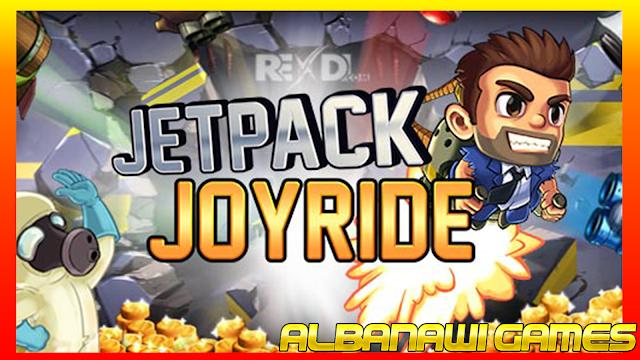 تحميل لعبة Jetpack Joyride MOD للأندرويد من الميديا فاير
