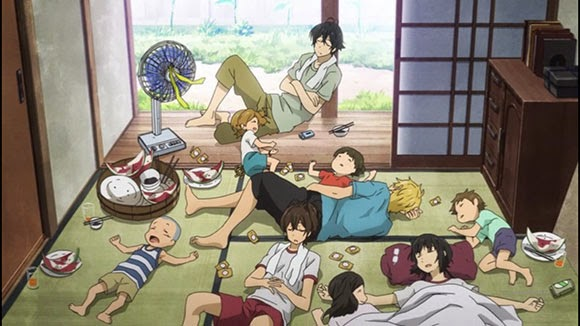 Barakamon - 10 anime terbaik 2014