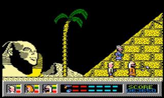 Videojuego El Misterio del Nilo - Amstrad CPC