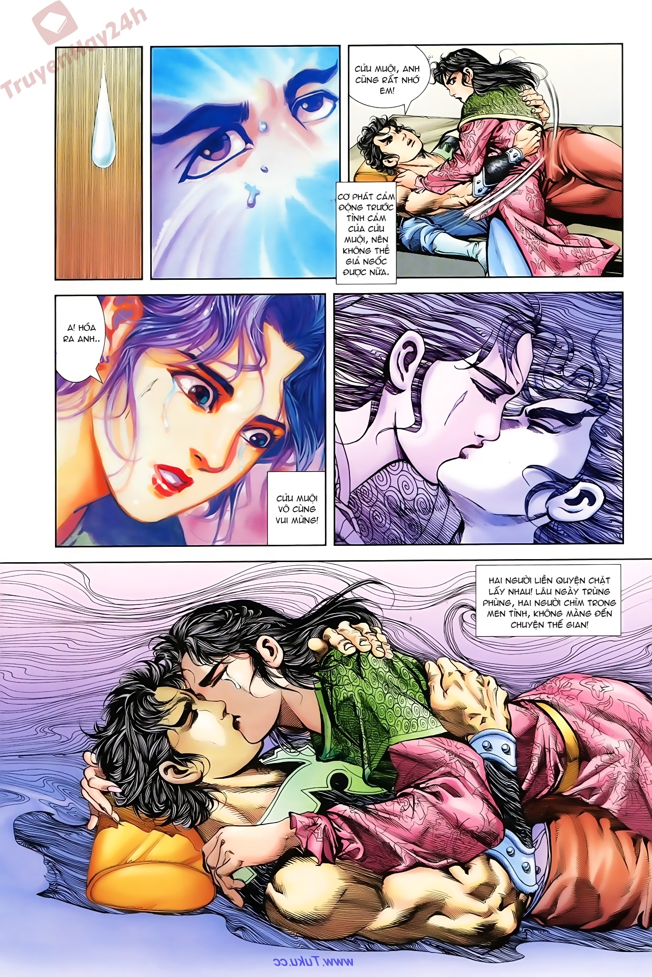 Cơ Phát Khai Chu Bản chapter 76 trang 4