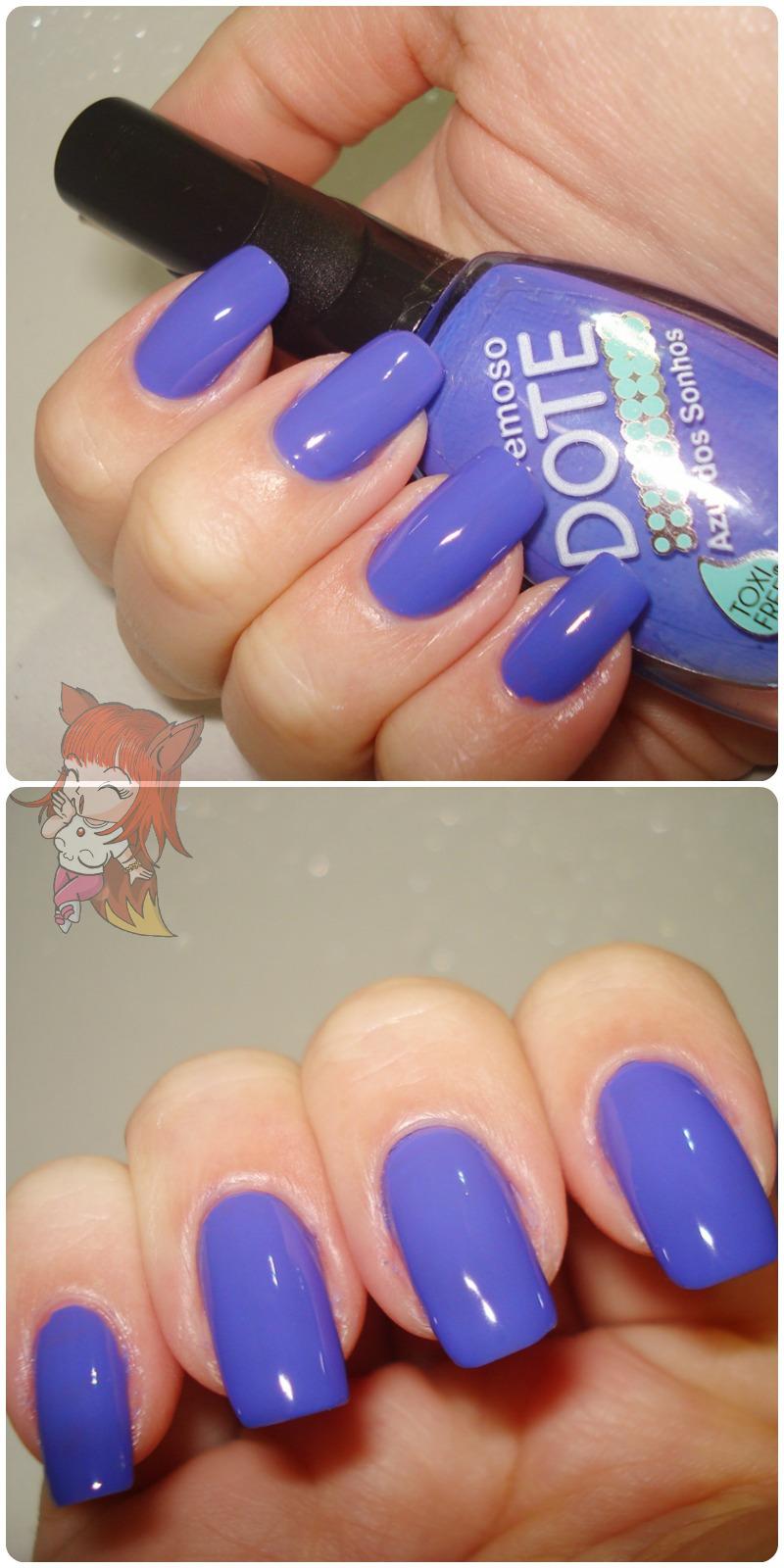 Esmalte Dote :: Azul dos Sonhos - Resenha