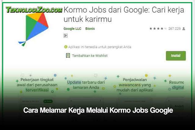aplikasi lowongan kerja google