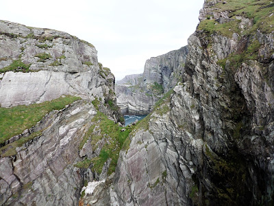 The gorge at Mizen Head