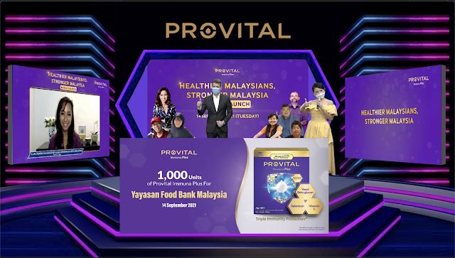 PROVITAL Immuna Plus - Rakyat Lebih Sihat, Malaysia Kukuh Bersemangat