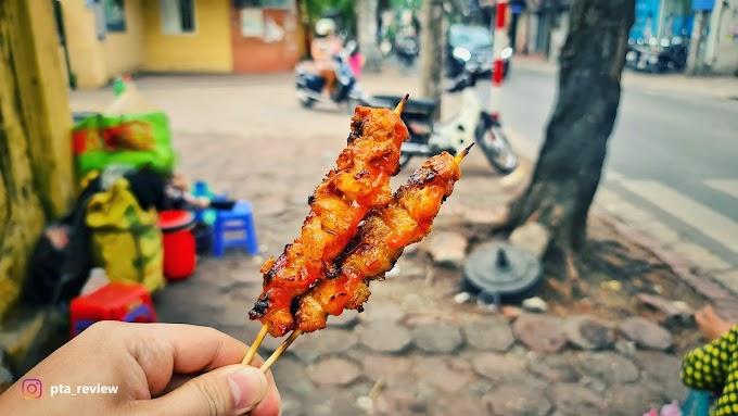 Thịt xiên nướng Thái Thịnh - Ngonnnnn!!!