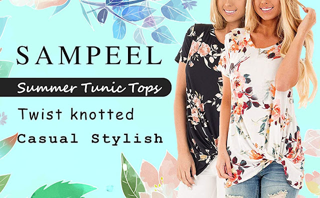 Twist Knot Tunics Tops
