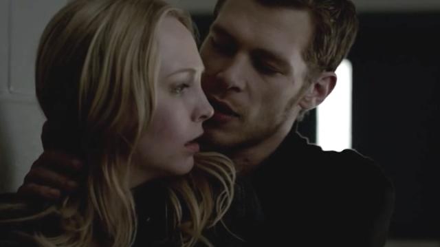 Klaus Saves Caroline From Alaric