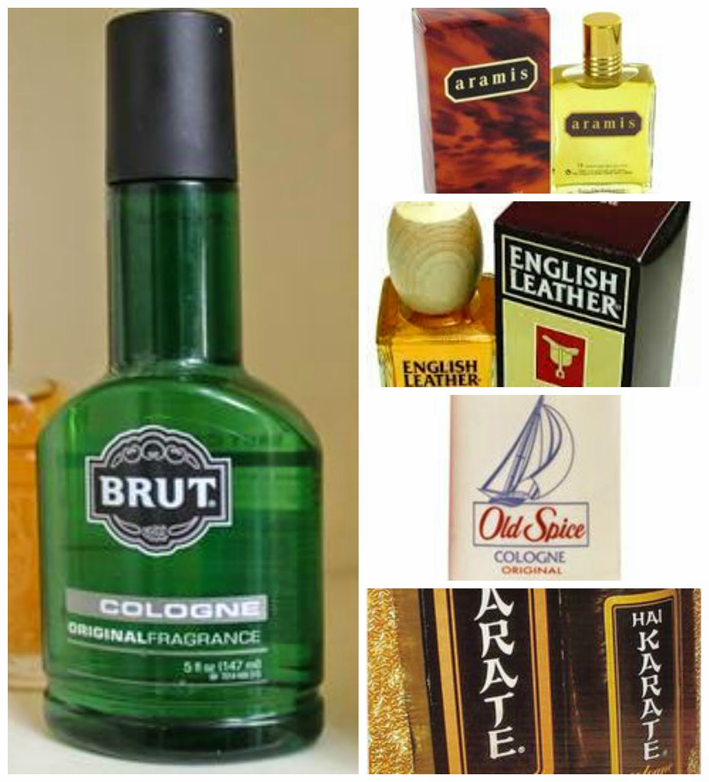 Seventies aftershave