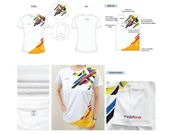 Mẫu đồng phục áo thun Mobifone số 3