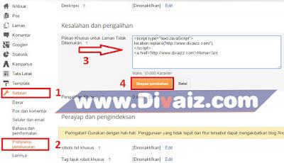 Error 404 - 5 - www.divaiz.com