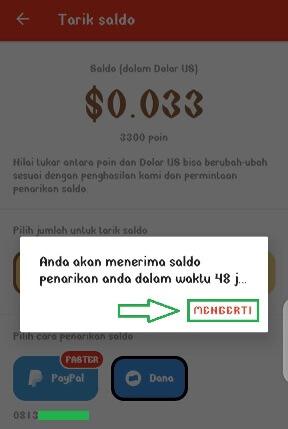 Cara Mencairkan Uang Dari Buzzbreak Ke Dana E Wallet