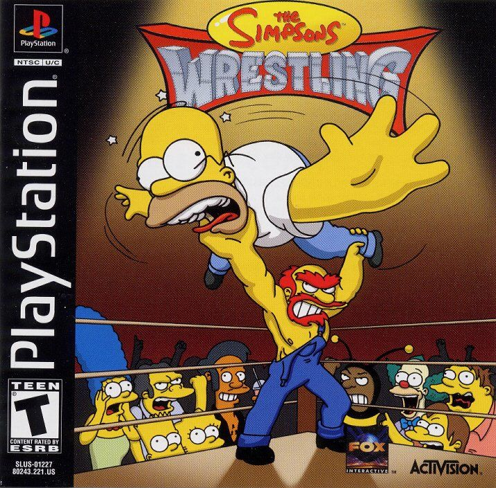 Simpsons Wrestling - PS1 - ISOs Download