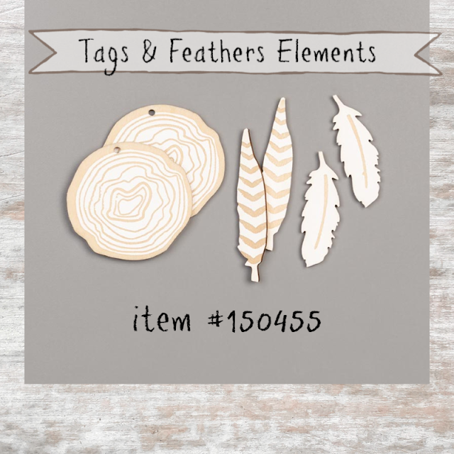 Tags & Feathers Elements from Stampin' Up! - shop with Nicole Steele