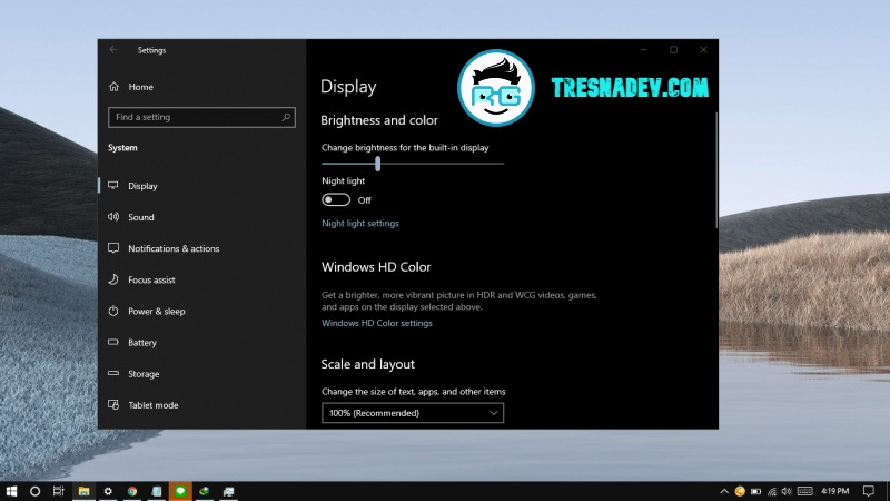 Cara Cepat Restart Video Graphic Driver di Windows 10