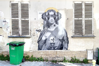 Sunday Street Art : 13bis - place Maurice Chevalier - Paris 20