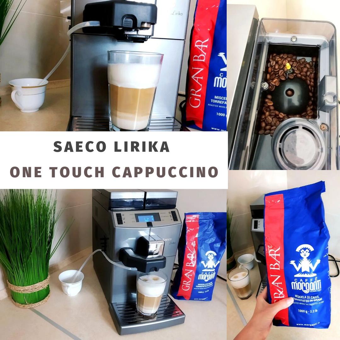 Saeco Lirika One Touch Cappuccino - idealny sprzęt dla każdego miłośnika kawy.