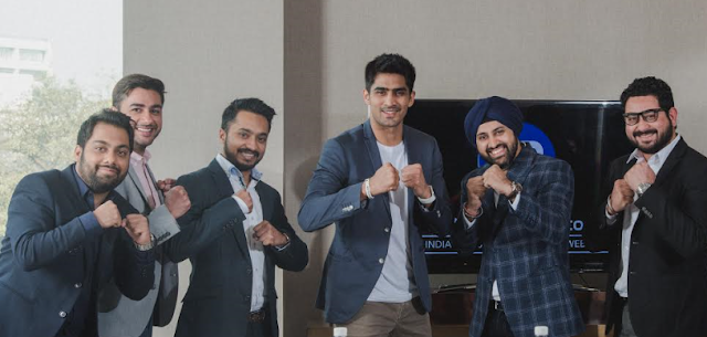 Vijendra Singh, Indian Boxing Champion associates with Pokerbaazi