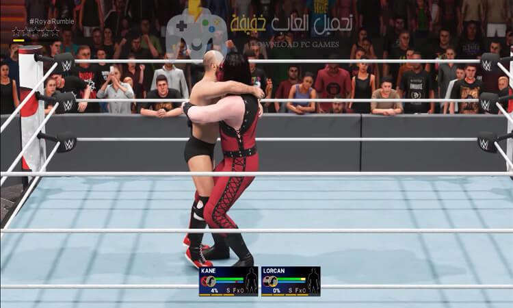 تحميل لعبة المصارعة WWE 2K19 للكمبيوتر