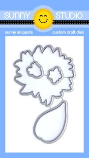 Sunny Studio Stamps: Sunflower Fields Coordinating Low Profile Metal Cutting Dies
