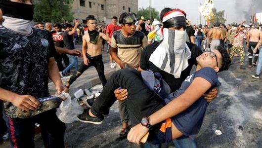 Demo Anti Pemerintah di Irak Telan Korban Tewas Hingga 300 Orang