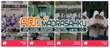 Download Buku Panduan Aplikasi Raport Digital (ARD) Jenjang MI, MTs dan MA Terbaru