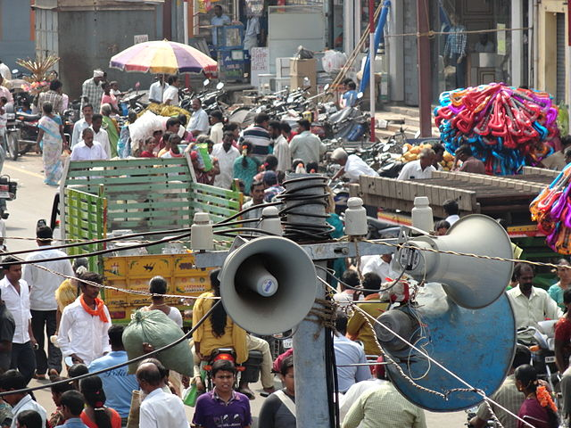 legal control of noise pollution in India