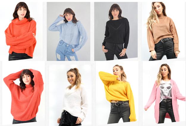 sweaters de mujer