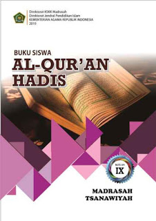 Buku Al Quran Hadis MTs Kelas 8 - KMA 183 2019