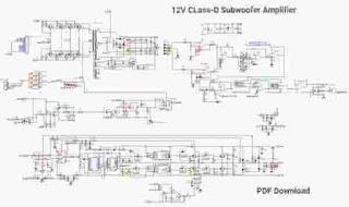 Class-D Subwoofer Amplifier