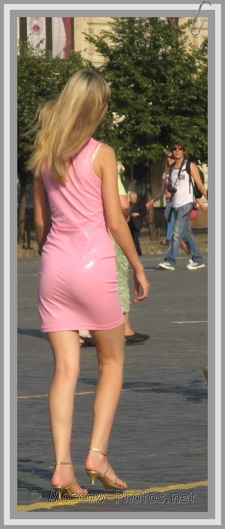 Light Rose Summer Mini Dress