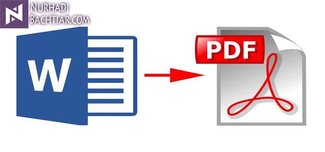 Cara Mudah Convert File Word menjadi PDF