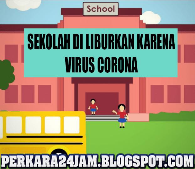 Presiden Joko Widodo : Seluruh Sekolah Wajib Libur Karena Virus Corona