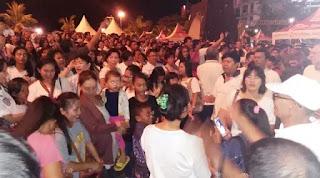 Aksi Dukung Ahok di Makassar Berlangsung Ricuh